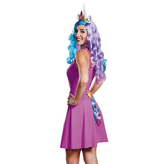 Disguise Womens Princess Celestia Adult Tail Costume Accessory Multi One Size