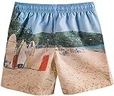 Akula Boys' Quick Drying Board Shorts Summer Swim Trunks
