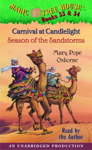 Magic Tree House: Books 33 & 34: Carnival at Candlelight, Season of the Sandstorms - Book  of the Magic Tree House