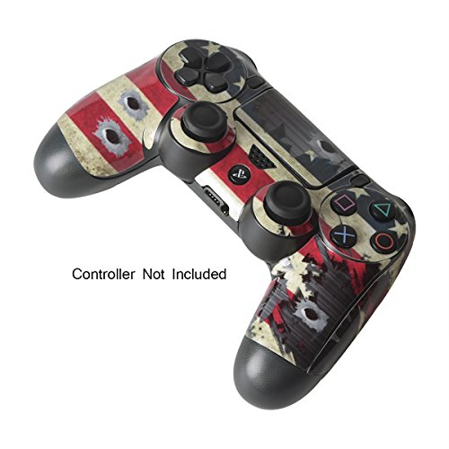 Skins for ps4 controller decals for playstation 4 games stickers 4 games stickers cover for ps4 slim sony play station four controllers pro ps4 accessories ps4 remote wireless dualshock 4 flag daemon 6 light bar aloadofball Image collections