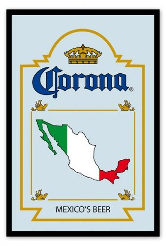 Corona - Bar Mirror (Mexico's Beer) (Size: 9
