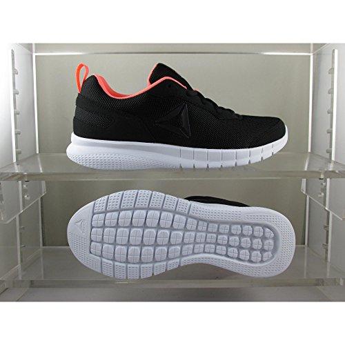 Reebok AD Swiftway Run, Zapatillas de Deporte para Mujer Multicolor (Black / White / Digital Pink 000)