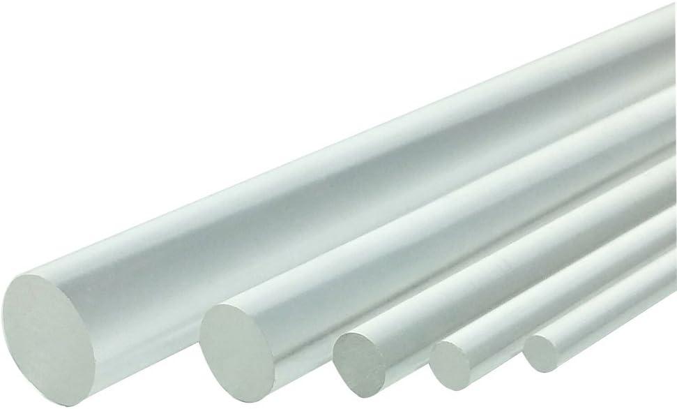 Espeedy 20/cm Acrylique Tige en plexiglas Transparent Plexiglas antiadh/ésif Rouleau /à P/âte Moule /à g/âteaux b/âton DIY outils dargile polym/ère