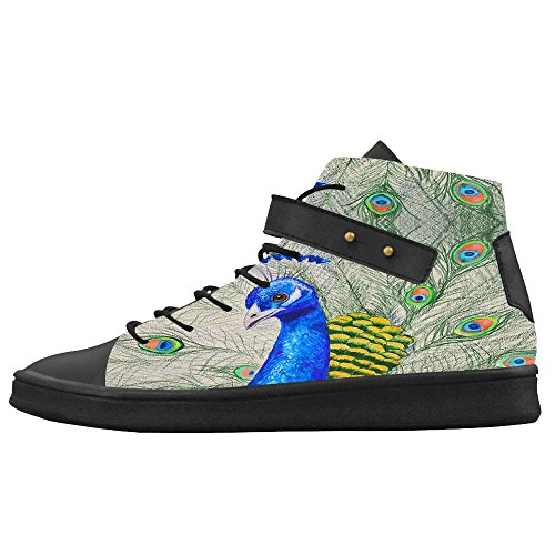 Dalliy sch?ne pfau Mens Canvas shoes Schuhe Footwear Sneakers shoes Schuhe A