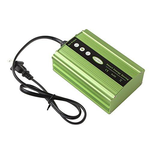 50KW Power Energy Saver Saving Box Electricity Bill Killer Up to 35% US Plug (Green)