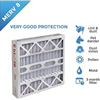 20x20x4 MERV 8 AC Furnace 4 Inch Air Filter - 6 PACK