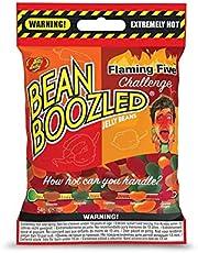 Jelly Belly Bean Boozled Flaming Five Bag - Extreem Hot Candy Bonen - voor leuke gevulde volwassen feesten, 54 g (Pack van 1)