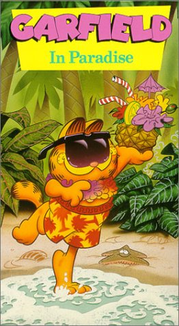 Click for larger image of Garfield - In Paradise [VHS]