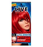 Schwarzkopf Live Color Xxl Ultra Brights 92 Pillar Box Red Semi-Permanent Red Hair Dye