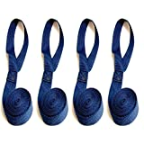 """Sail Ties, 55"""", Box Stitched 1"""" Polypropylene Webbing - Pick Your Color! - 4Pc. Set"""