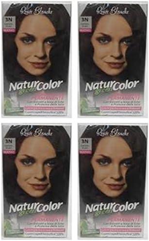 4 x Tinte Natural Color Renee Blanco Coloración 3N Castaño ...