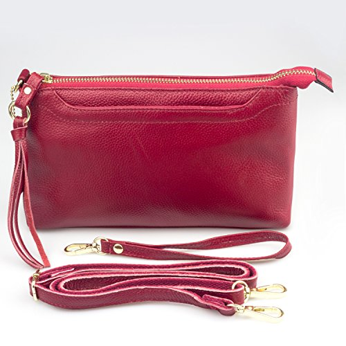 Clutch Gift Mobile Shoulder Red Purses Bag Woman Messenger Girl Bag Phone Bags Lady Crossbody Wallet Bagzy Mujere Shoulder Party Leather Bag Strap RwExHFa