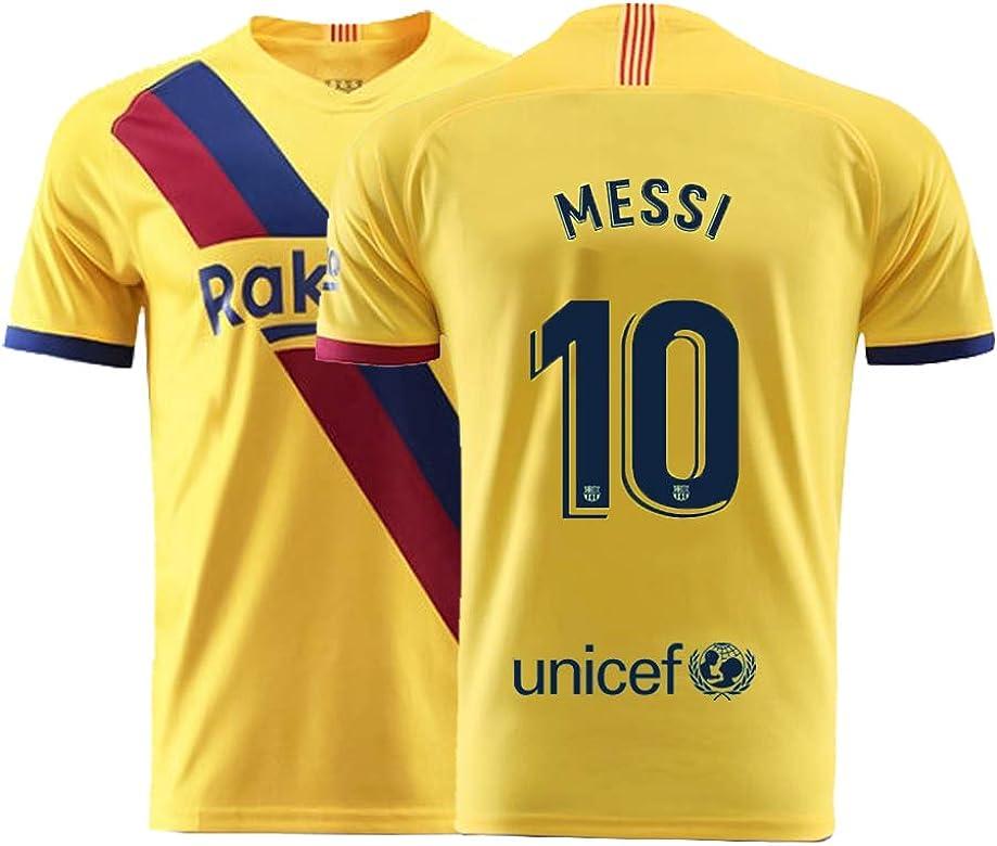 huge selection of 76d28 c7992 Mens Messi Jersey 2019-2020 Away Adult Soccer 10 Barcelona Lionel