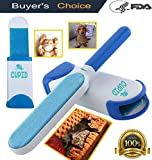 Pet Fur and Lint Remover with Self-Cleaning Base for a Flawless...