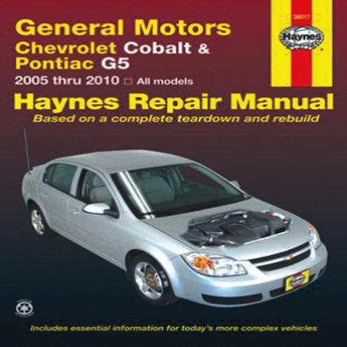 General motors chevrolet cobalt pontiac g5 2005 thru for General motors cars brands