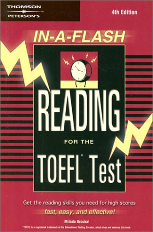 In-a-Flash: Reading for the TOEFL Exam (TOEFL READING IN A ()