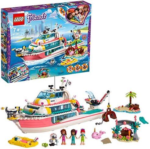 LEGO Friends - Barco de Rescate Nuevo juguete de construcción de ...
