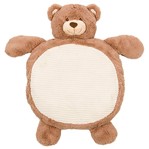 Bear Mat (Supersoft and Cuddly Plush Brown Bear Baby Play Mat 35in ...)