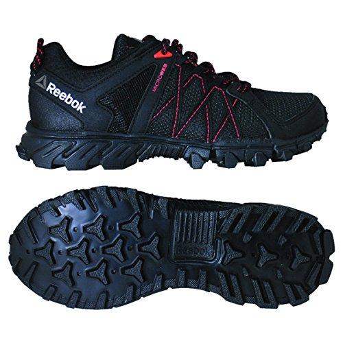Reebok Damen Trailgrip RS 5.0 Sneaker Low Hals Schwarz (Black/carotene/coal)