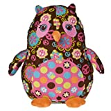 """Mary Meyer Print Pizzazz, Roly Cocoa Owl, 13"""""""