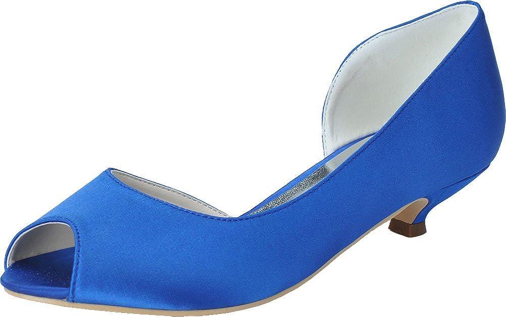 CFP , Damen Peep-Toe, Blau - blau - Größe  38