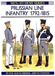 Prussian Line Infantry 1792-1815 (Men-at-Arms) (Vol 2)