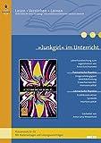 »Junkgirl« im Unterricht: Lehrerhandreichung zum Jugendroman von Anna Kuschnarowa (Klassenstufe 8–10, mit Kopiervorlagen und Lösungsvorschlägen) (Beltz Praxis/Lesen - Verstehen - Lernen)