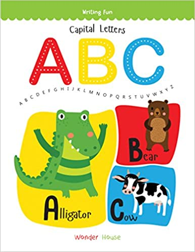 Buy Capital Letters ABC Write And Practice A To Z Writing Fun Book Online At Low Prices In India