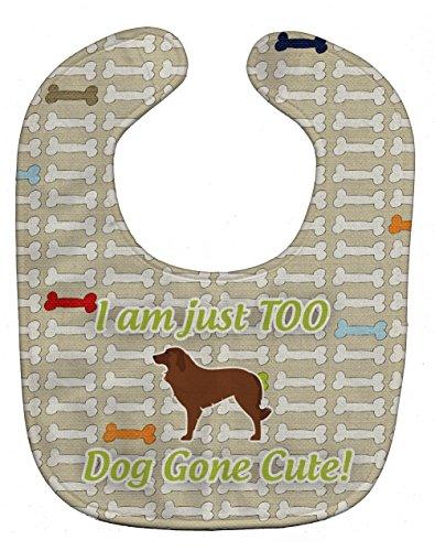 Caroline's Treasures Dog Gone Cute Baby Bib, Portuguese S...