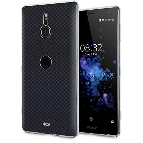 Olixar Clear Case Compatible with Sony Xperia XZ3 - Slim Soft Gel Cover - Ultra Thin Silicone - 100% Clear - Flexible Transparent Case