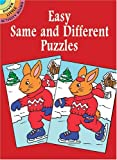 Easy Same and Different Puzzles, Anna Pomaska, 0486429970