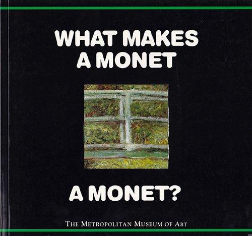 Amazon What Makes A Monet A Monet 9780670852000 Richard