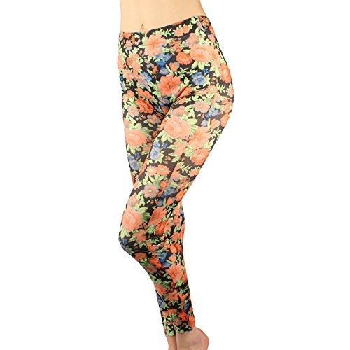 Pretty Floral Pants - 6
