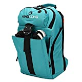 "King Kong Mini Backpack - Military Spec Nylon Gym Backpack with Expandable Pockets and Heavy Duty Buckles for Active Lifestyle - 18"" x 11"" x 5.5"" - Teal"