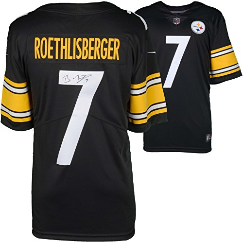 Ben Roethlisberger Pittsburgh Steelers Autographed Nike Black Limited Jersey - Fanatics Authentic Certified