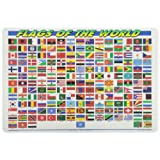 PAINLESS LEARNING PLACEMATS-Flags of The World-Placemat