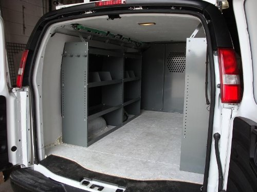 (True Racks Van Shelving Storage System - Package 3 pc. Set for Full Size Van)