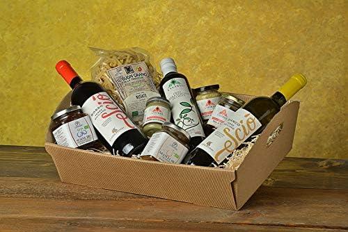 Box Cesto regalo Natale/Natalizio 2020 e varie occasioni la Sicilia a Tavola, prodotti selezionati della nostra azienda e terra