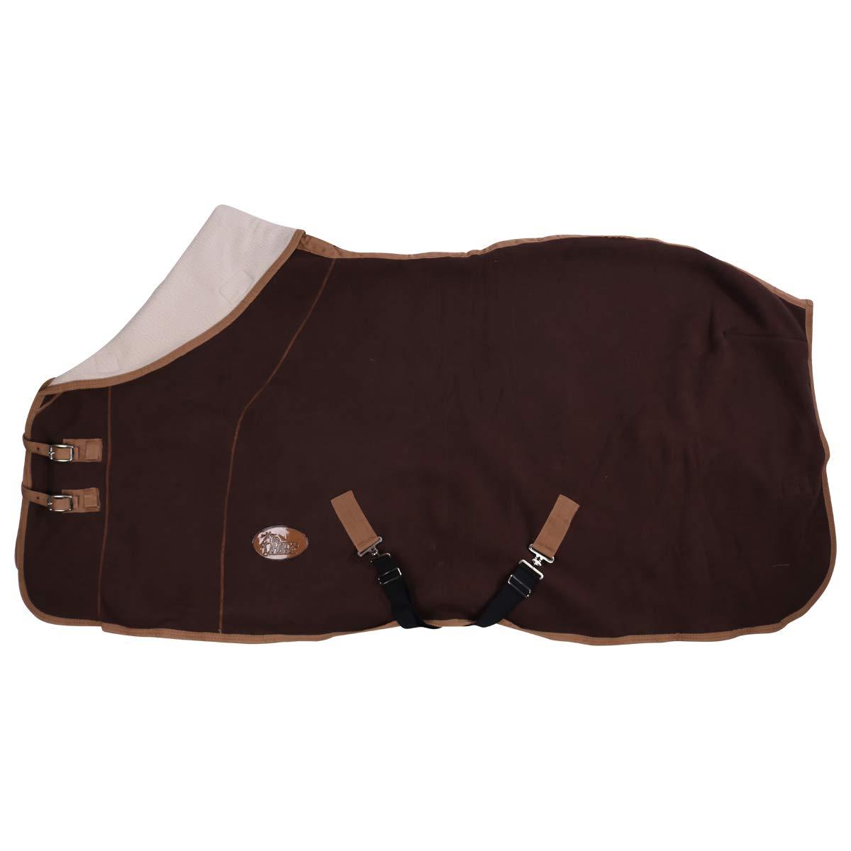 Harry's Horse 32200393-03155cm Teddyfleece Decke 1/2 Hals, L, braun Harry' s Horse