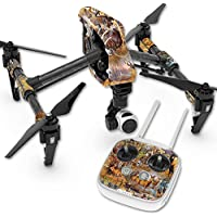 Skin For DJI Inspire 1 Quadcopter Drone – Deer Pattern | MightySkins Protective, Durable, and Unique Vinyl Decal wrap cover | Easy To Apply, Remove, and Change Styles | Made in the USA