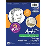 Pacon Art1St Tracing Paper Pad, 9x12-Inch, 50-Sheet (2312)