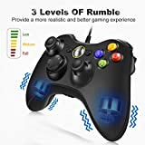 VOYEE Wired Xbox 360 Controller Compatible with