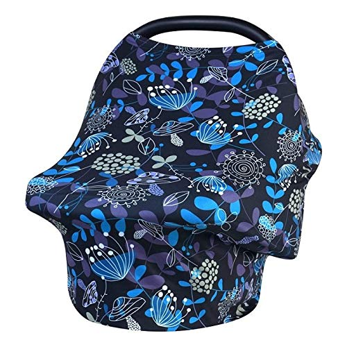 Best Quality - Nursing Covers - Nursing Breastfeeding Cover Scarf - Baby Car Seat Canopy, Shopping Cart, Stroller, Carseat Covers for Girls and Boys - Best Mult - by Organsetz - 1 PCs]()
