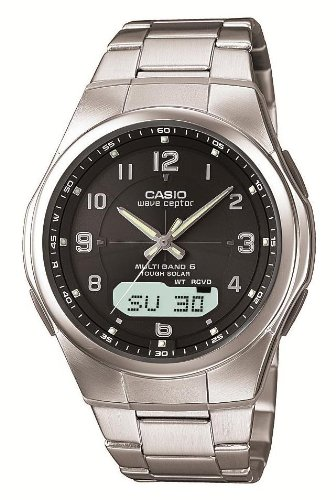 Casio Wave Scepter Tough Solar Radio Clock Multiband 6 WVA-M600D-1AJF Men's Watch Japan Import