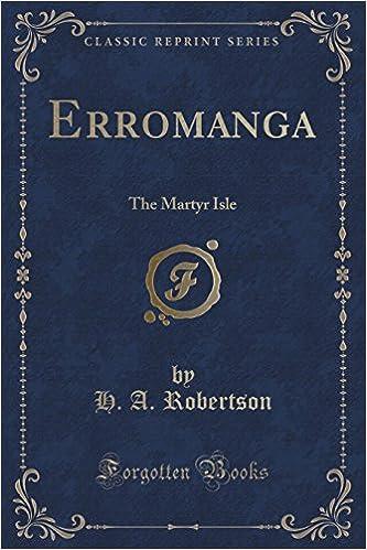Libros descargables de amazonErromanga: The Martyr Isle (Classic Reprint) PDF ePub