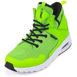 Zumba Fitness LLC Women's Zumba Air Classic Remix Sneaker, Green, 7 Regular US
