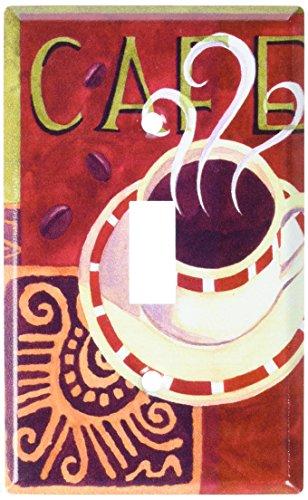 Art Plates - Coffee Cafe Switch Plate - Single Toggle