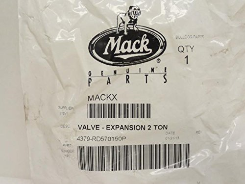 Mack 4379-RD570150P Expansion Valve, 2-Ton, R-134a