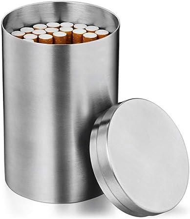 Bozaap Bote de Almacenamiento pequeño de Acero Inoxidable para té, café, Puros, bastón de algodón: Amazon.es: Hogar