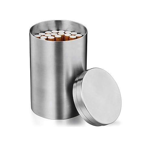 Egosy Caja de Cigarrillos de Acero Inoxidable Caja de ...